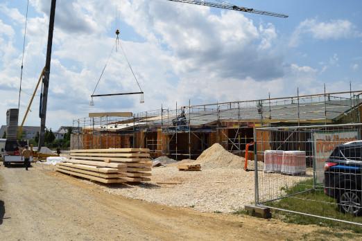 neuer Kiga bei Buttinette Wertingen Baustelle 07 2020 0502