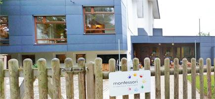 Montessori-Kinderhaus mit Krippe und Waldgruppe